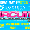 Society Presents Girlie Circuit Pre-Party at Trumps – 9 May