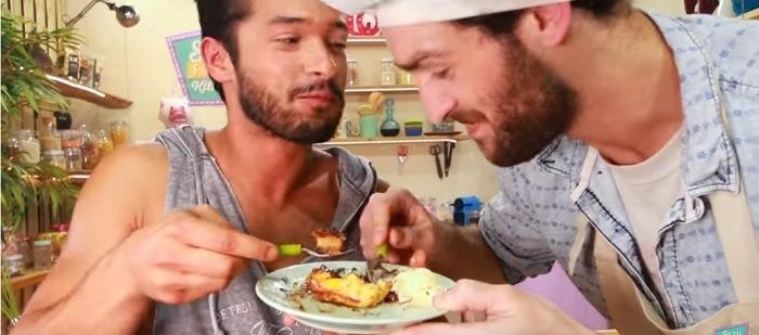 lorenzo and pedro, sexy funny kitchen, gay you tube stars,